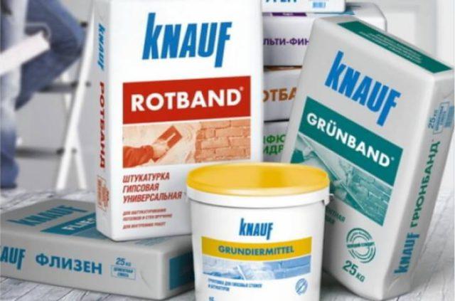 Штукатурка Knauf Rotband для отделки стен