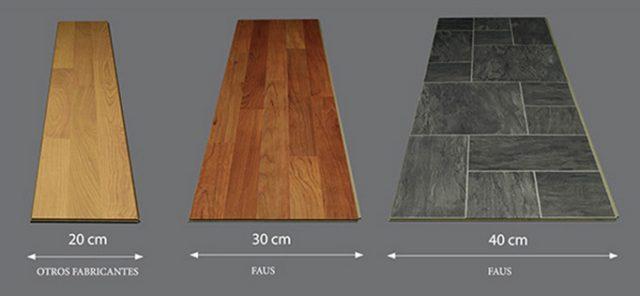 Размеры ламината фото