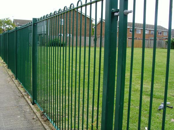 Секционные ограды из сетки