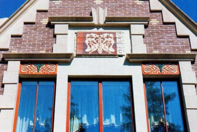 Отделка фасада рустами