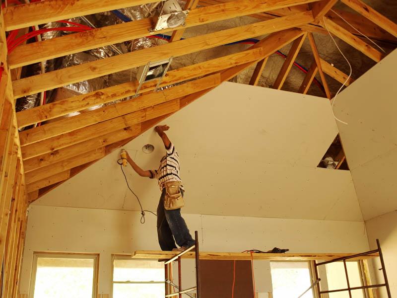 Построили дом как сделать потолок