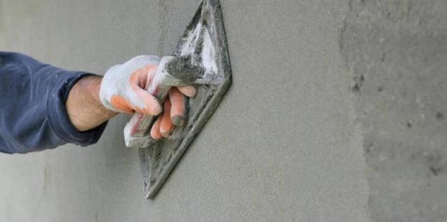 Штукатурка axton легко замешивается и наносится на поверхность даже машинным методом