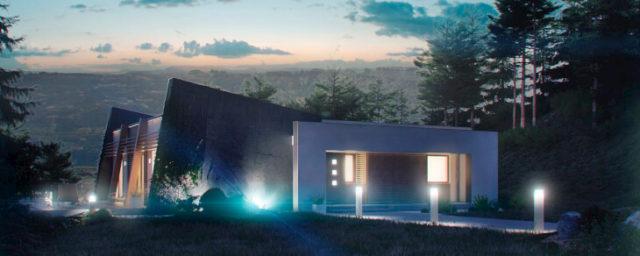 Фасадные светильники для загородного дома