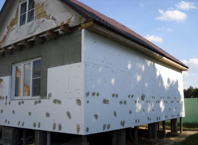 Утеплитель для стен снаружи под штукатурку