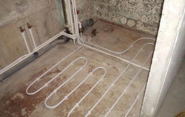 Водяные теплые полы в квартире