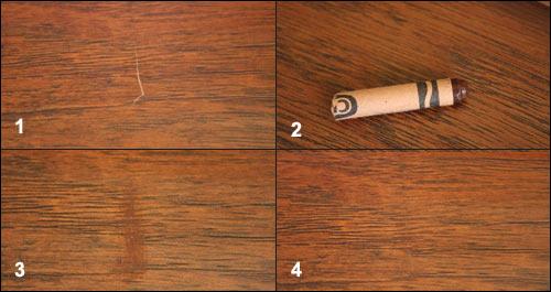 Восковой карандаш для ламината