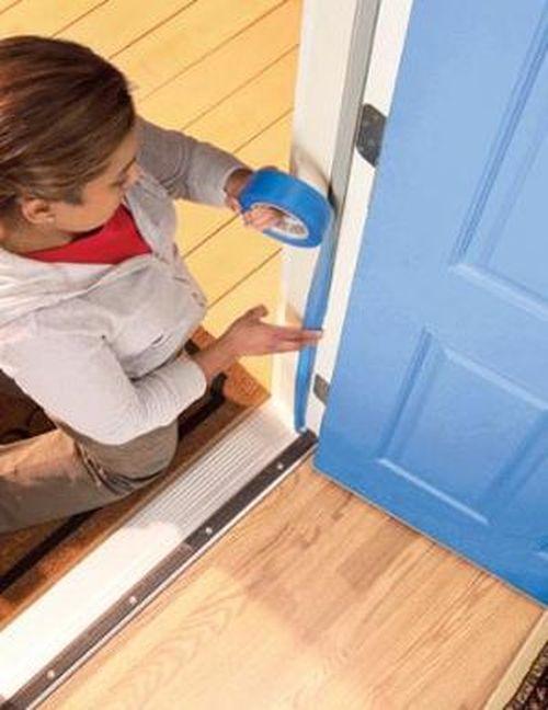 Подготовка двери к покраске