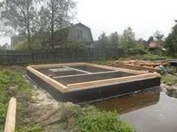 Фундамент на болотистом грунте