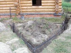 Работы по строительству дома