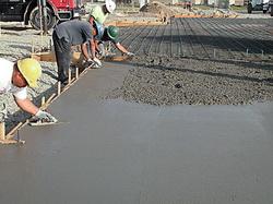 Разглаживание бетона
