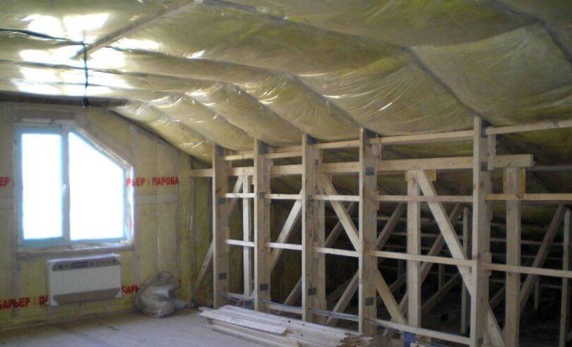 Пароизоляция потолка – эффективно и качественно