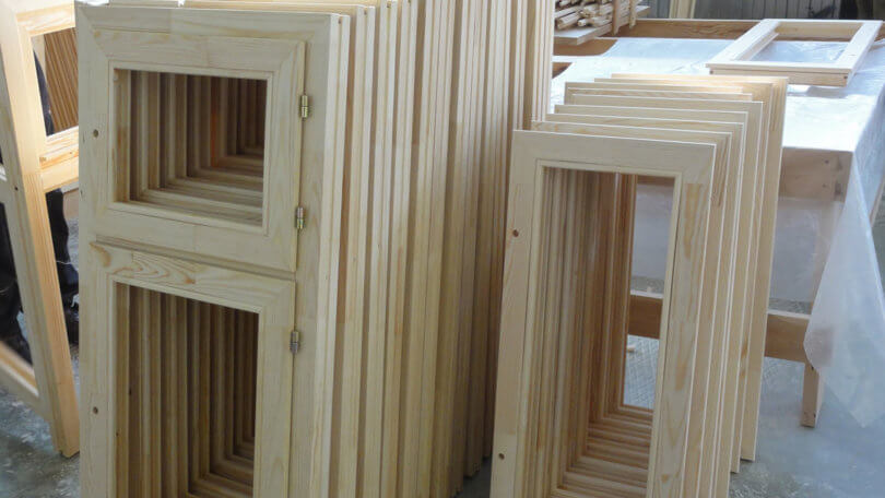 Делаем деревянные окна своими руками