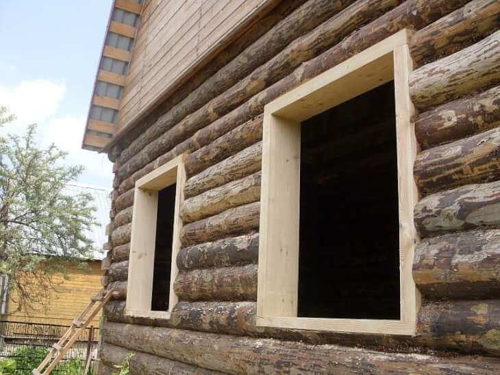 Деревянный короб