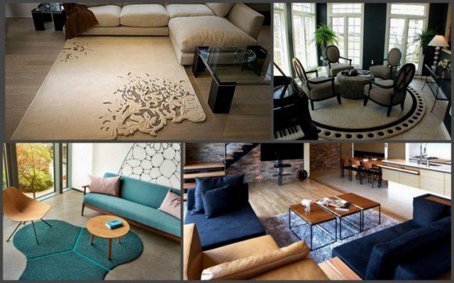 Многообразие форм позволяет сочетать предметы интерьера и создавать завершенность стиля всего помещения