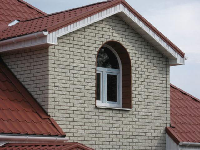 Фасадная панель под кирпич