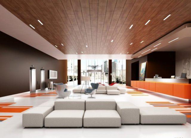 Подвесной потолок + ламинат