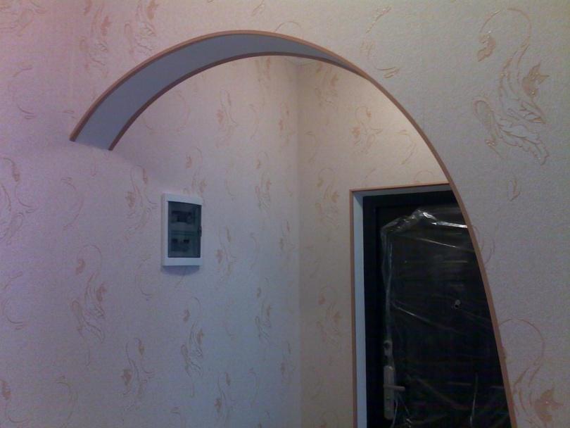 Уголки для арки к комнате