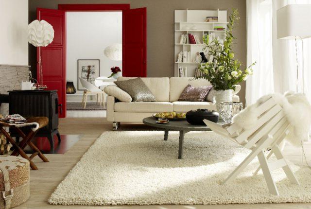 Как правильно выбрать ковер на пол для гостиной — материал, размеры, цвет, сочетание с интерьером
