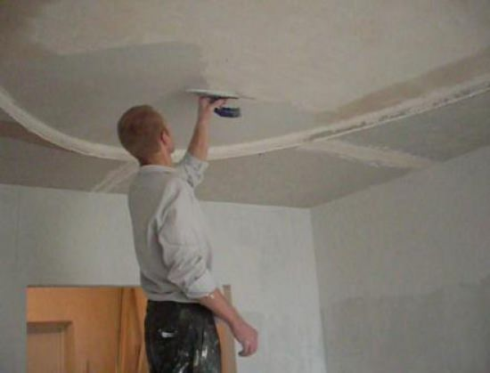 Шпаклевка стен под обои, шпаклевка стен под покраску