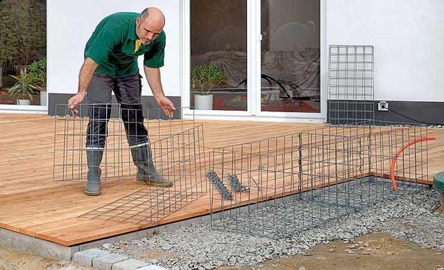 Габионы простое решение обустройства придомовой территории