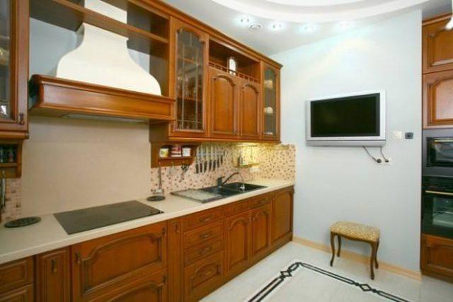 Если на стену из ГКЛ планируется навеска кухонных шкафов, для нее необходим усиленный каркас