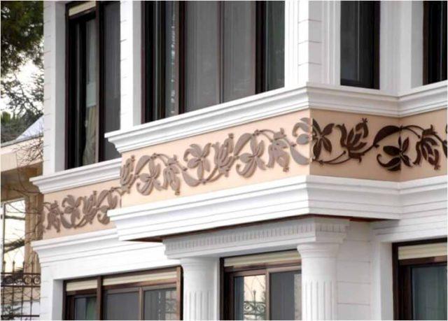 Элементы фасада здания