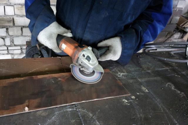 Подготовка металлической поверхности