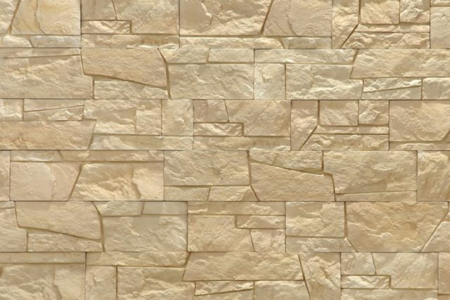Как покрасить декоративный камень?