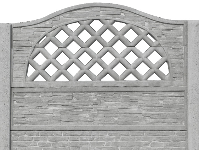 Декоративные бетонные заборы: красиво, современно и безопасно