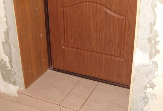 Откос для дверей из МДФ