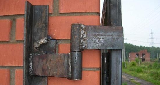 Варим петли для ворот — быстро, качественно и правильно