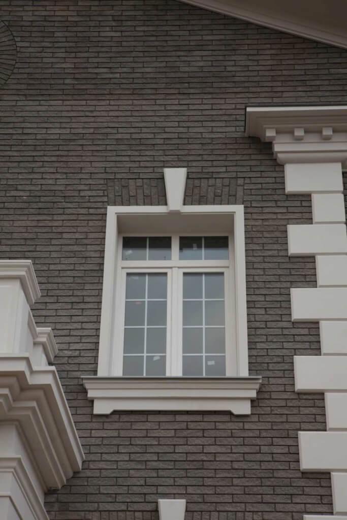 Фасад частного загородного дома