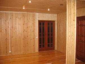 Деревянные перегородки в деревянном доме