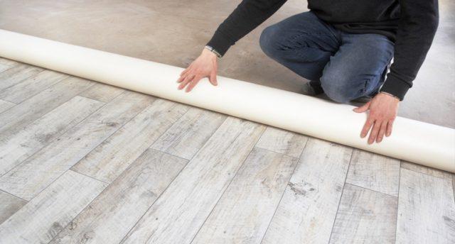 Вес 1 м2 линолеума – подсчитываем сколько весит материал
