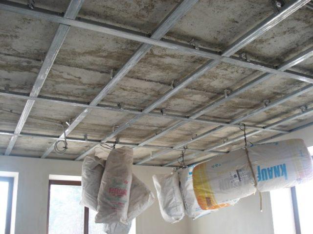 Технология монтажа потолка из гипсокартона: соблюдение всех пунктов дает наилучший результат