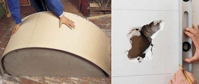 Обшивка стен гипсокартоном