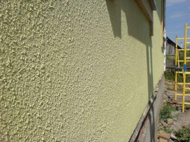 Фактурная краска для фасадов