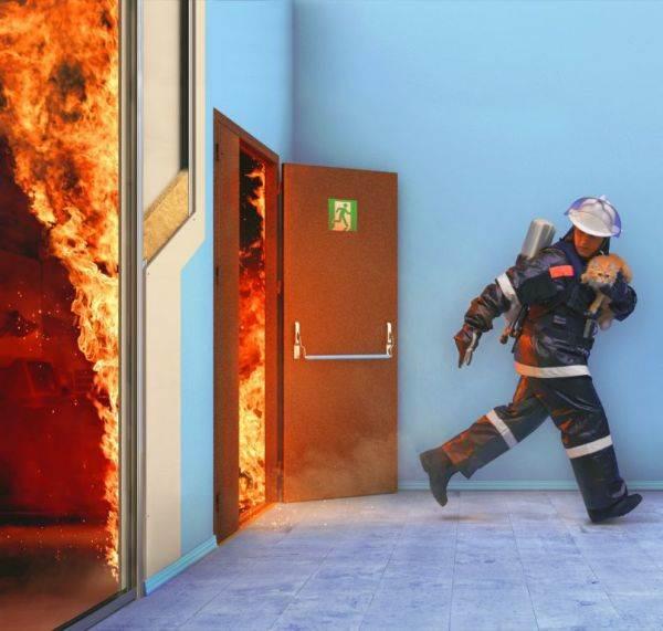 Противопожарные качества гипоскартона