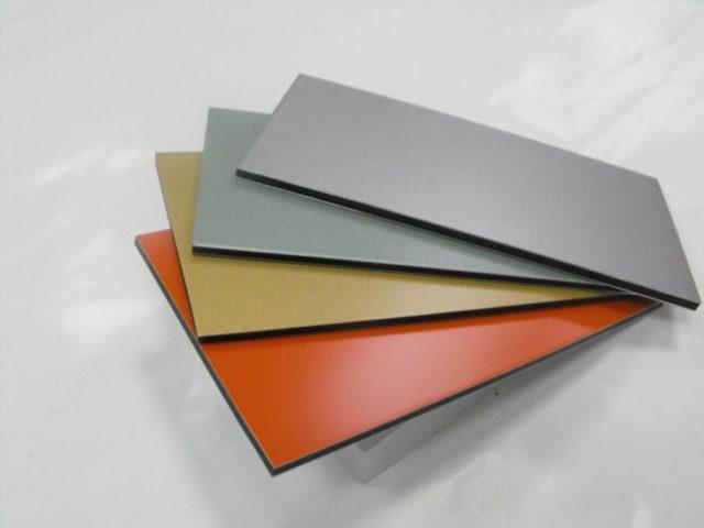 Алюминиевые панели для отделки стен