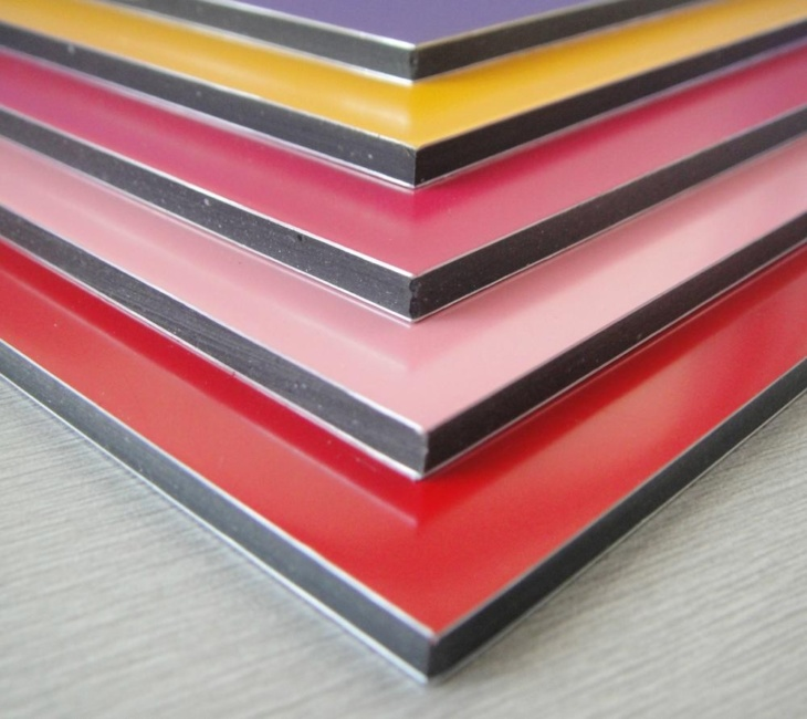 Алюминиевые панели для стен
