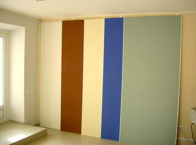Отделка стен алюминиевыми панелями