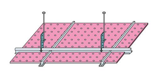 Установка потолочной системы