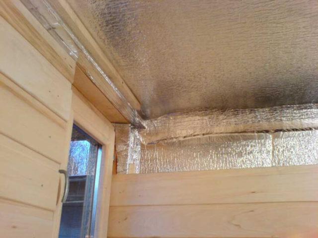 Гидроизоляция и утепление банного помещения