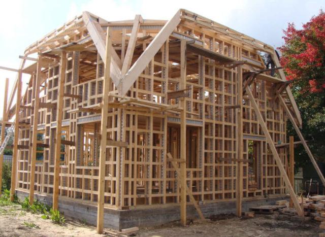Строительство каркасноного дома