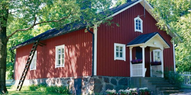 Краски Tikkurila для отделки фасада дома