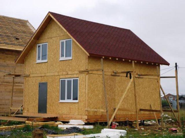 Строим дом из ОСБ самостоятельно