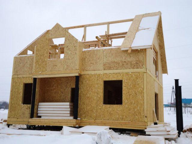 ОСБ-панели для строительства дома