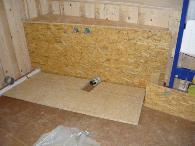 Древесно-стружечная плита для стен