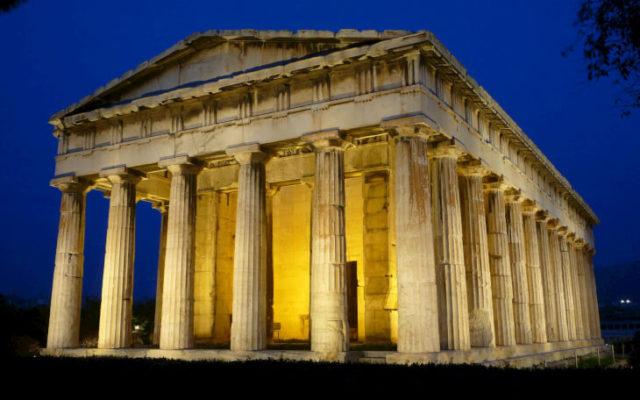 И сейчас нас поражают своим величием храмы Греции
