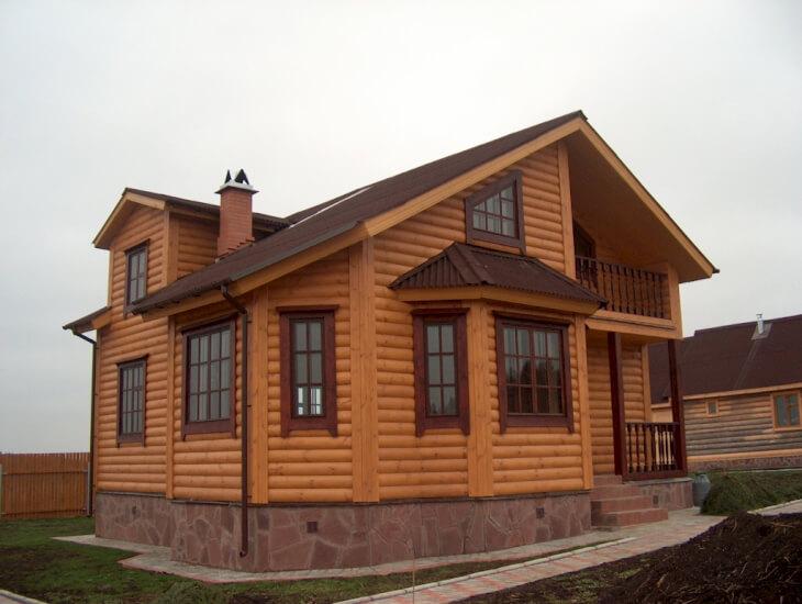 Дерево самый красивый и теплый строительный материал для домов